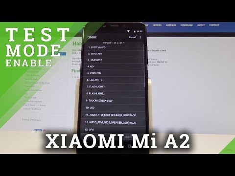 How to Enter QMMI Mode in XIAOMI Mi A2 - Enter & Quit QMMI Test