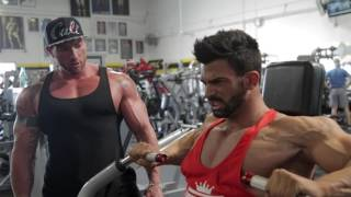 Download Video Sergi Constance Chest day workout at golds gym Venice with Justin Lovato MP3 3GP MP4