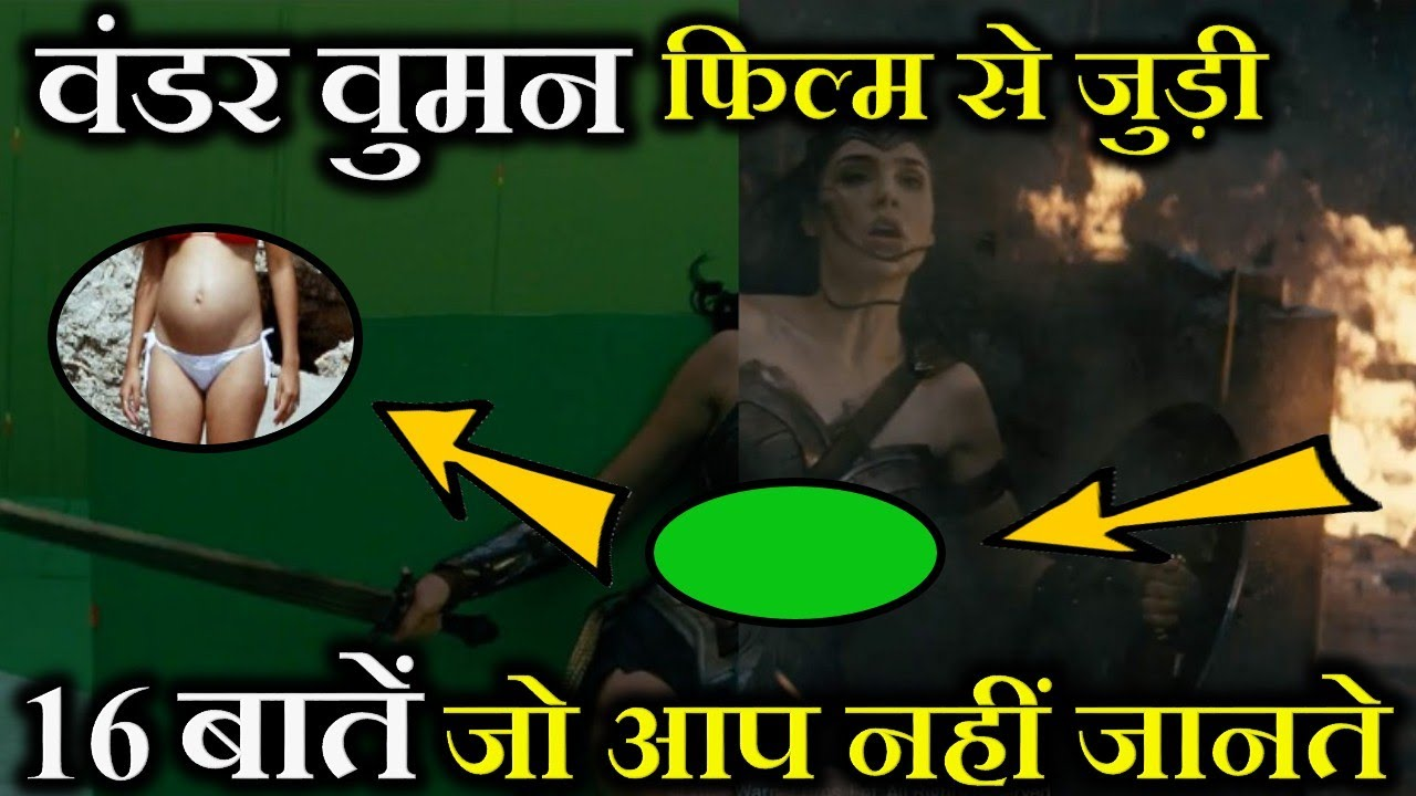 Download 16 Mind Blowing Wonder Woman Movie Facts in Hindi | Wonder Woman 1984 Facts