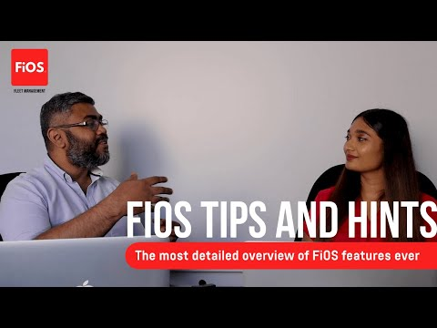 FiOS Talks: Useful tips to get the best out of the telematics platform