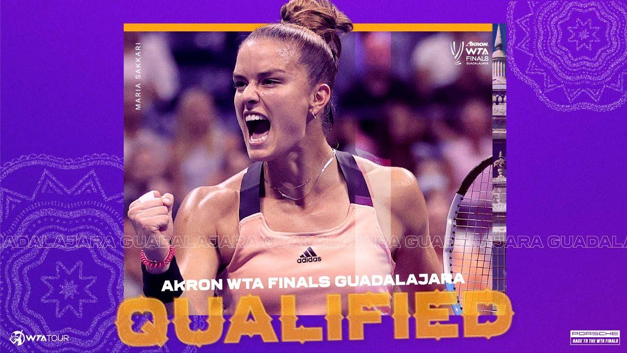 Download Maria Sakkari will make her debut at the 2021 WTA Finals
