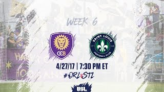 USL LIVE - Orlando City B vs Saint Louis FC 4/27/17