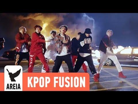 BTS (방탄소년단) x Steve Aoki - Mic Drop | Areia Kpop Fusion #26 REMIX