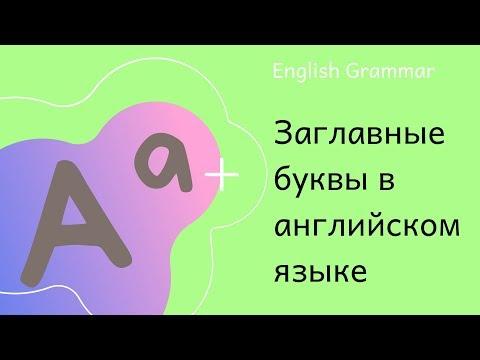 Английский язык I Какие существительные пишутся с заглавной буквы в английском языке I Grammar