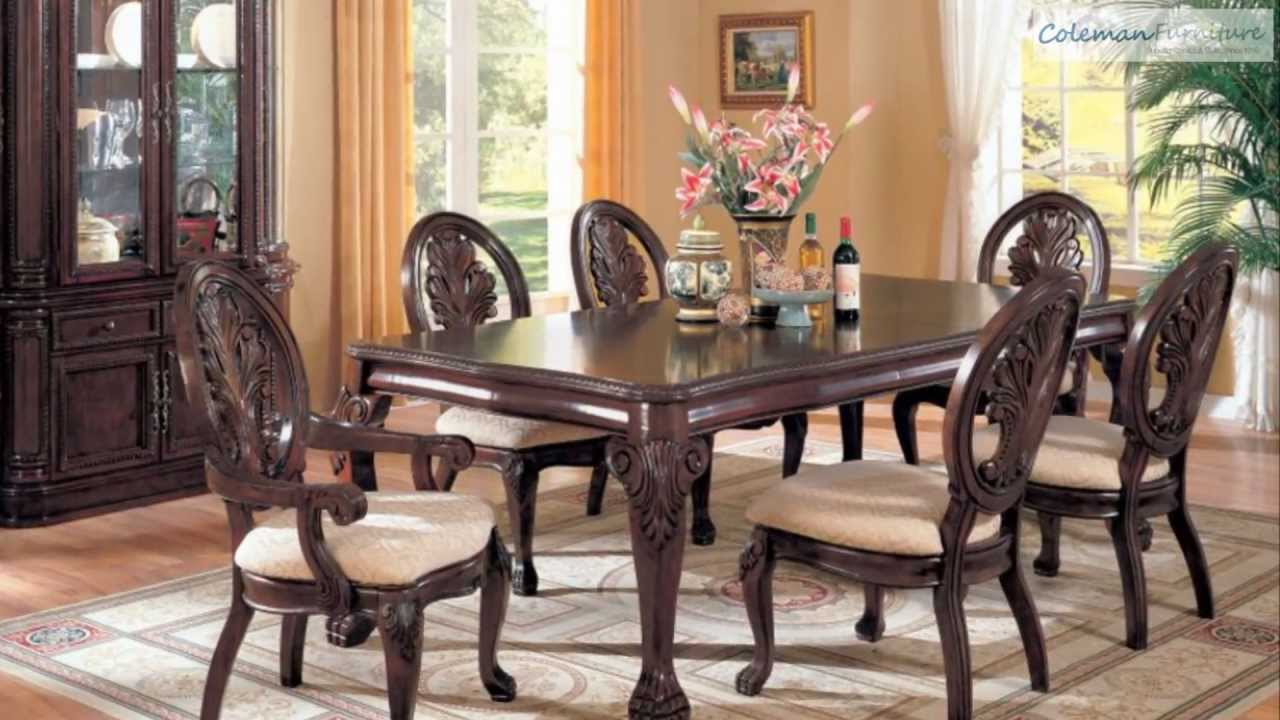 Tabitha leg dining room collection from coaster furniture youtube dzzzfo
