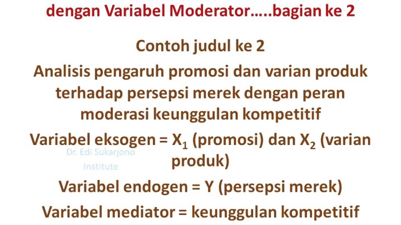 Cotnoh Judul Tesis Dan Disertasi Bag 2 Youtube