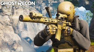 NIGHTMARE BURST INTEGRALLY SUPPRESSED ASSAULT RIFLE in Ghost Recon Breakpoint Free Roam