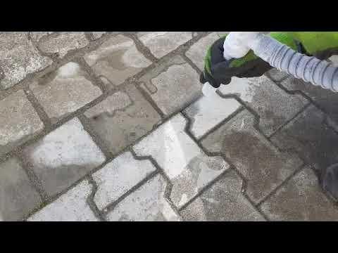 Farbe Von Pflastersteinen Entfernen