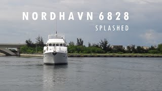 New Nordhavn 68 #28 Trawler in Stormy Weather