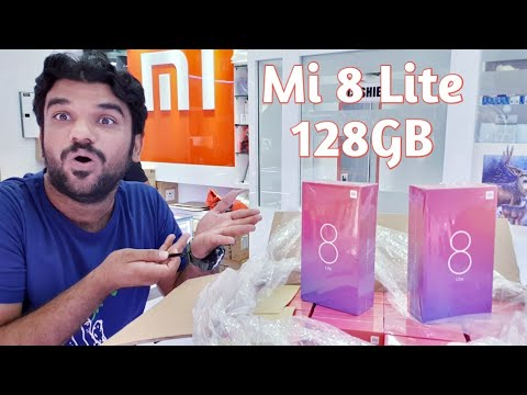 Hindi | Mi 8 Lite 128GB. 64GB Black. Available  In Dubai