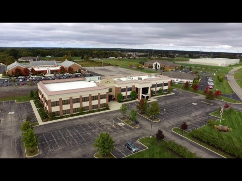 Lewis Center Commercial Real Estate AERIAL VIDEO