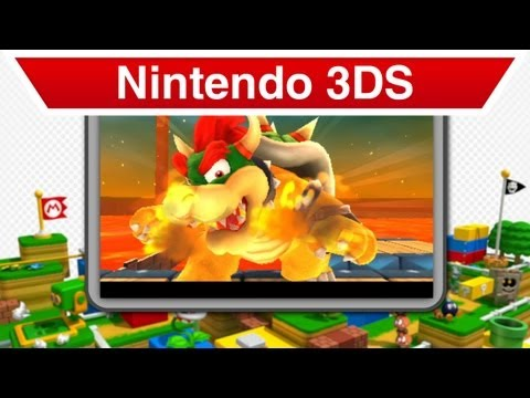 Nintendo 3DS - Super Mario 3D Land Launch Trailer