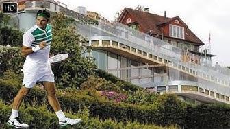 Roger Federer | Mirka Federer House Tour - 2018 ( Inside & Outside )  [Tennis Players House]