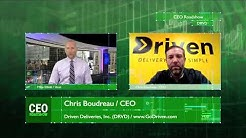 Driven Deliveries (DRVD) is World's First Publicly Traded Cannabis Delivery Company