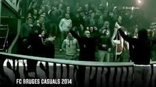 East-Side FC Bruges, day before FC Brugge - RSC Anderlecht | (Belgium, 05/2014)