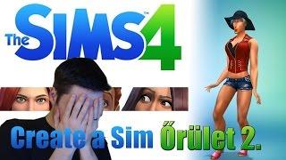 Les Sims 4 Créer un Sim - continuer la folie