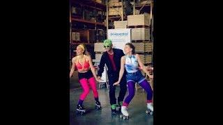 Roller Girl Hôtesses x ORVIF : Un show Funk en entreprise