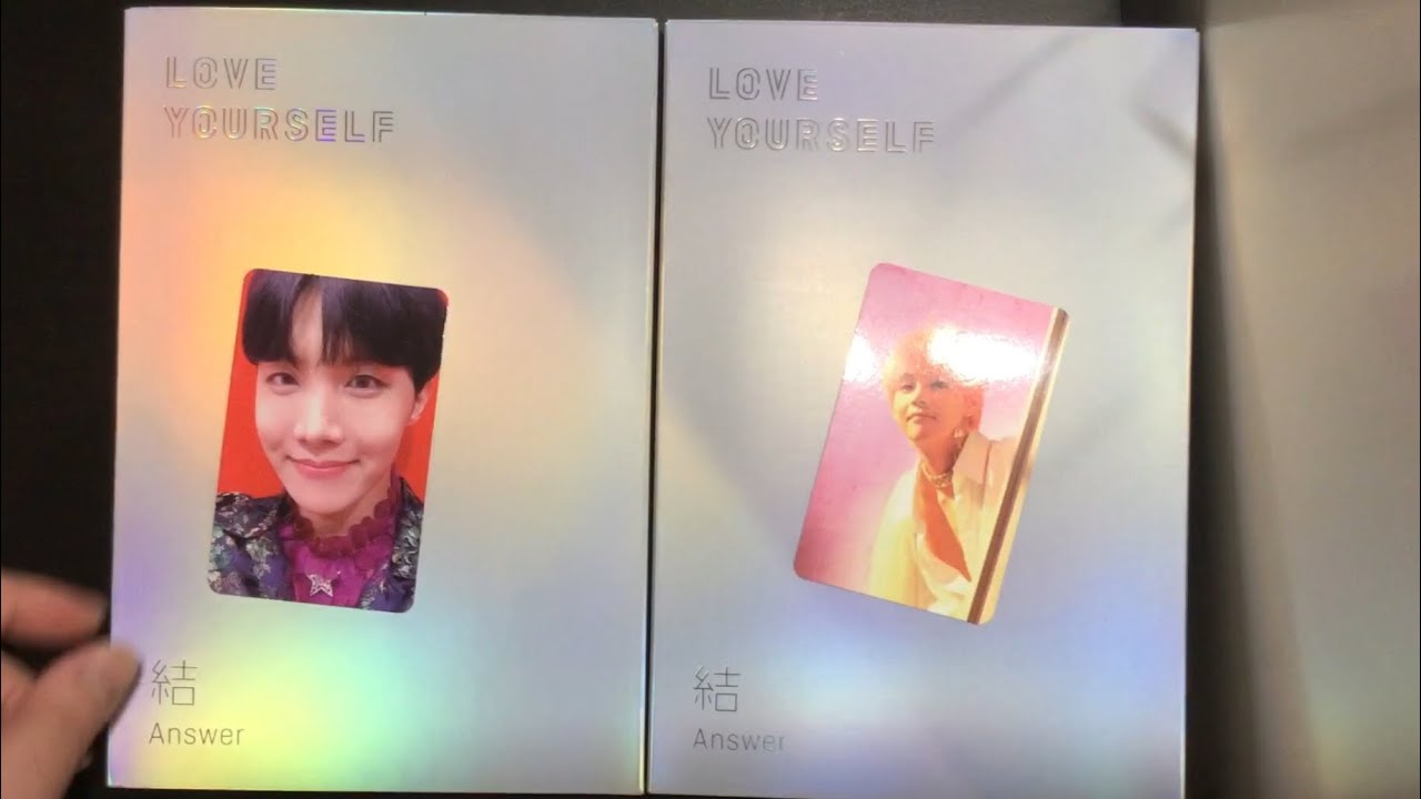 Unboxing Bts Love Yourself Answer Albums S E Versions