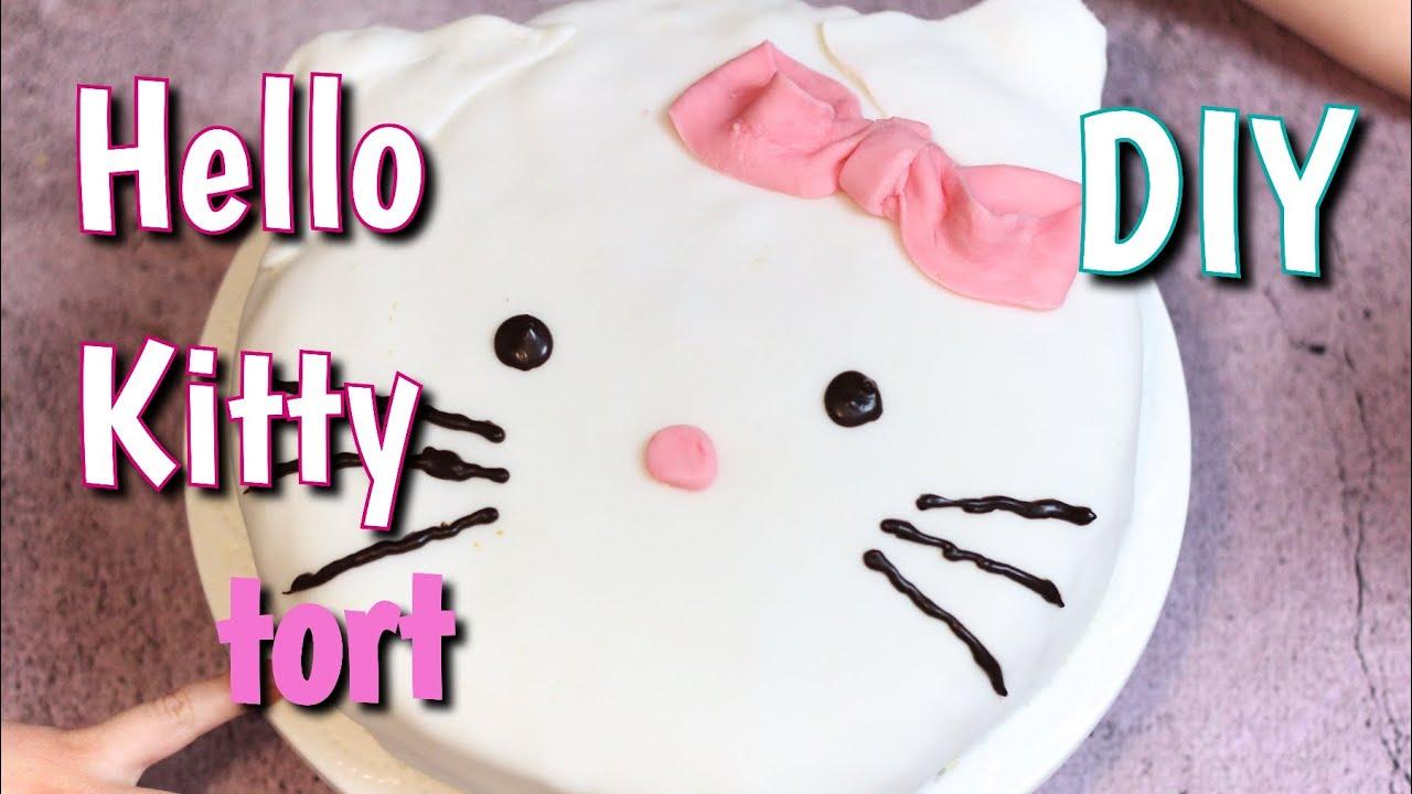 Tort Hello Kitty Jak Zrobić Youtube