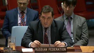 Выступление зампостпреда В.К.Сафронкова в СБ ООН по косовскому урегулированию, 27 февраля 2017 г.