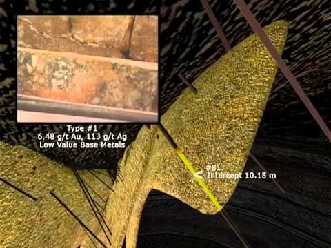 Mining Gold Silver Technical 3D Animation / IR PR Presentation Mexico Soho Resources Corp.