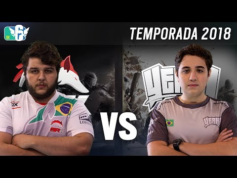 [BR6] YEAH! GAMING vs BRK E-SPORTS (Temporada 2018)