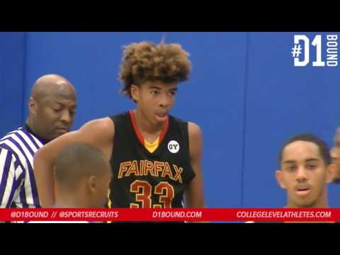 Fairfax (Los Angeles) vs University: 2017 HS Basketball Highlight Mixtape - CollegeLevelAthletes.com