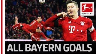 Lewandowski & James Secure Bayern Win - Goals & Bicycle Kick Assist