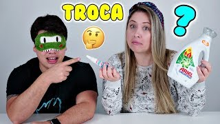 BATALHA DE SLIME TROCA DE INGREDIENTES 3 !! SWITCH UP SLIME CHALLENGE CanalKids