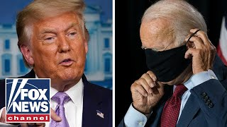 Trump slams Biden's call for a national mask mandate
