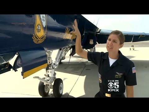 Blue Angels Aim To Inspire Young Women, Girls During Fleet Week