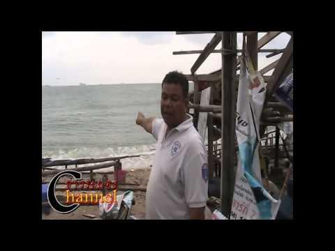 พายุงวงช้างพัดถล่มบ้านพักริมชายหาดทะเลพังยับ/ข่าวระยอง