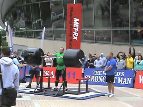 2011 World's Strongest Man- Squat Lift- Travis Ortmayer