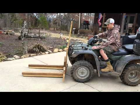 Homemade forklift (Part 1)