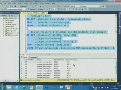 SQL Server 2012 Au-delà Du Relationnel / Journées SQL Server