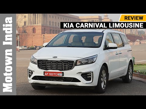 Kia Carnival Limousine | VIP seats and Interiors? | Motown India