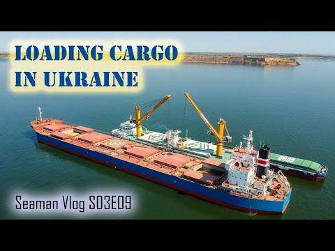 Our Ship Loads Cargo in Ukraine | Seaman Vlog S03E09