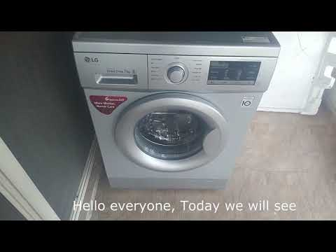 LG Tub Cleaning - Front Load