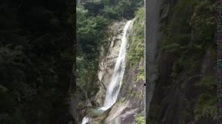 鳳凰三山 南精進ヶ滝