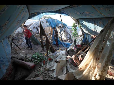 قتلى وجرحى بقصف على مخيم قاح بريف إدلب  - نشر قبل 3 ساعة