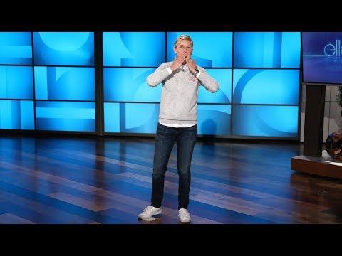 Ellen Isn't Giving Up Hope in the Midst of Devastating Events