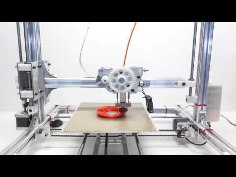 IMPRESORA 3D VELLEMAN K8200 - PARA PLA Y ABS