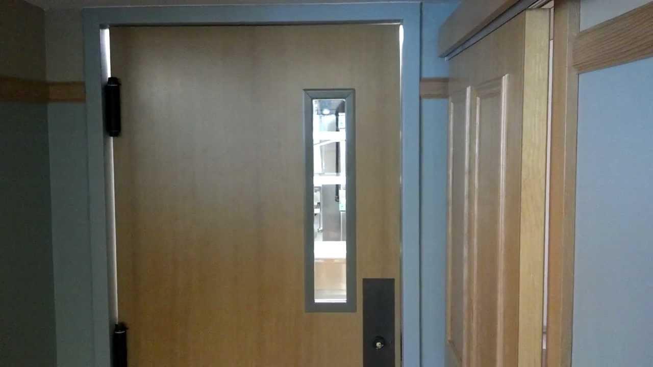 High Pointe- Kitchen door swing - YouTube