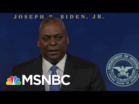 Biden's Defense Secretary Nominee Retired Gen. Lloyd Austin Delivers Remarks | MSNBC