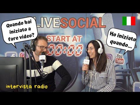 My first radio interview ever! La mia prima intervista radio di sempre! [subs]