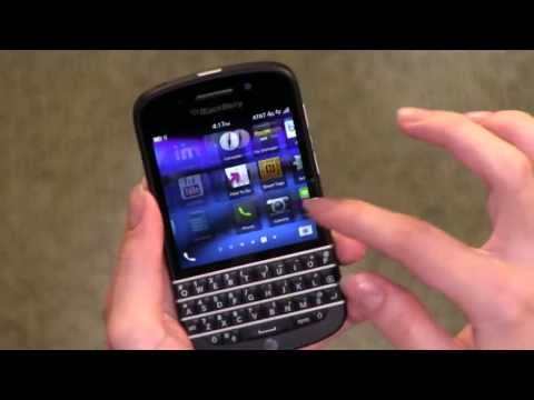 Blackberry Q10 SQN100-1 Unlocked GSM Phone with 4G LTE (700/850/1700/1900), Black