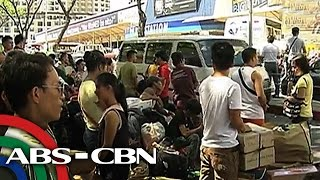 Bandila: More commuters province-bound ahead of elections