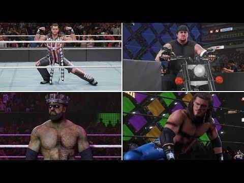 WWE 2K19 Entrances - Shawn Michaels 2005, Big Evil Undertaker, Zombie Triple H, Edge, Savage & More