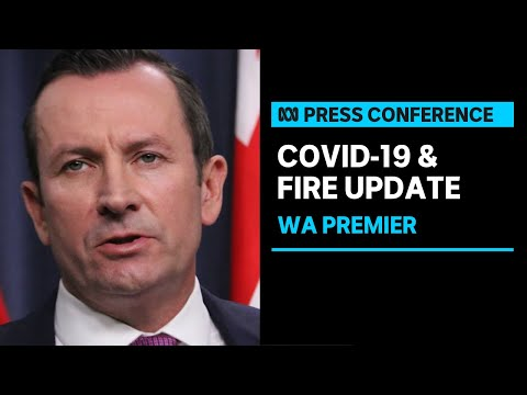 #COMING UP: WA Premier provides an update on the COVID-19 lockdown and Perth Bushfire | ABC News