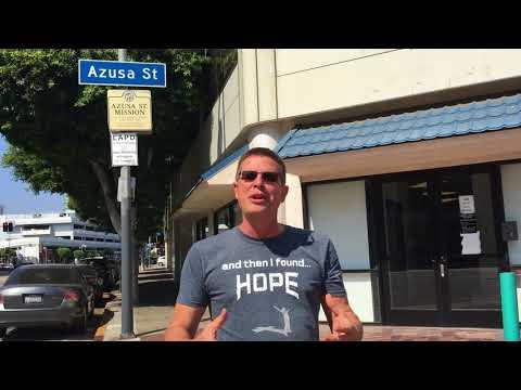 Pastor Jim Detweiler  Message Azusa Street